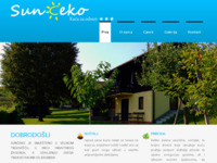 Slika naslovnice sjedišta: Sunčeko - kuća za odmor (http://www.sunceko.com)