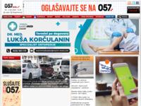 Slika naslovnice sjedišta: 057info portal - Zadar (http://www.057info.hr)