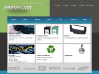 Frontpage screenshot for site: Premplast (http://www.premplast.hr)