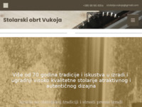 Slika naslovnice sjedišta: Stolarija Vukoja (http://www.stolarija-vukoja.hr)