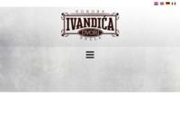 Frontpage screenshot for site: Konoba Ivandića Dvori (http://www.konoba-ivandicadvori.com)