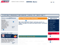 Frontpage screenshot for site: Repsol ulja i maziva (http://www.mototakt.hr)
