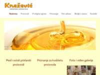 Frontpage screenshot for site: Obiteljsko pčelarstvo Knežević, Šiškovci (http://med-knezevic.com)