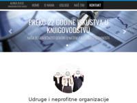 Slika naslovnice sjedišta: Alinea d.o.o. Rijeka (http://www.alinea-ri.hr)