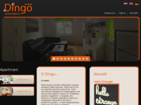 Frontpage screenshot for site: Stan u centru grada s vrtom, vrlo povoljno (http://www.apartment-zagreb.com)