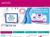 Slika naslovnice sjedišta: Aktival - zdravlje, ljepota, vitalnost, dodaci prehrani (http://www.aktival.hr)