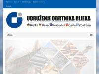 Slika naslovnice sjedišta: Udruženje obrtnika Rijeka - Obrtnici Rijeka (http://www.obrtnici-rijeka.hr)
