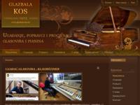 Frontpage screenshot for site: Glazbala Kos (http://www.glazbala-kos.hr)