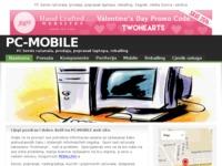 Frontpage screenshot for site: PC mobile (http://www.pc-mobile.viviti.com/)