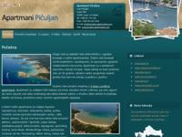 Frontpage screenshot for site: Apartmani Pičuljan - Lopar, otok Rab (http://piculjan-apartments.com)