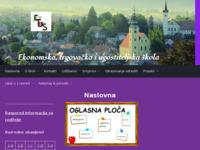 Slika naslovnice sjedišta: Ekonomska, trgovačka i ugostiteljska škola (http://www.ss-ekonomska-trgovacka-ugostiteljska-samobor.skole.hr)