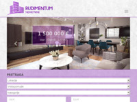 Frontpage screenshot for site: Rudimentum d.o.o. (http://www.rudimentum.hr)