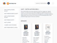 Slika naslovnice sjedišta: avast! antivirusna rješenja (http://avast.software.hr)