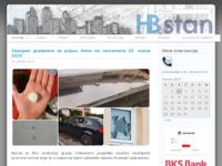 Frontpage screenshot for site: HB stan za upravljanje nekretninama - Crikvenica (http://hbstan.hr)
