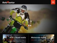 Slika naslovnice sjedišta: Moto centar all terrain vehicles (http://atv.moto-centar.hr)