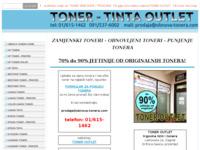 Frontpage screenshot for site: Obnova tonera (http://obnova-tonera.com)
