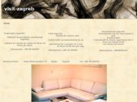 Frontpage screenshot for site: Visit Zagreb (http://visitzagreb.yolasite.com/)