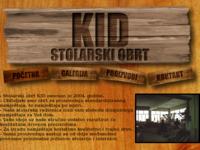 Slika naslovnice sjedišta: Stolarski Obrt - KID (http://www.stolarija-kid.hr)