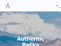 Frontpage screenshot for site: Autentičan smještj u Baški (http://www.authenticbaska.com)