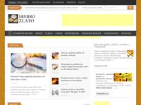 Frontpage screenshot for site: Prodaja i cijena zlatnika i srebrnjaka (http://www.srebrozlato.com/)