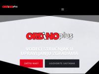 Frontpage screenshot for site: Ordino d.o.o (http://www.ordino.hr)