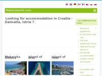 Frontpage screenshot for site: Vakance travel (http://www.vakance.hr)