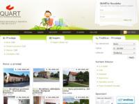 Frontpage screenshot for site: Quart - Agencija za poslovanje nekretninama (http://www.quart.hr)
