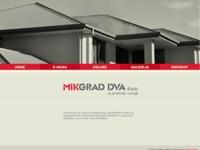 Slika naslovnice sjedišta: Mikgrad dva (http://www.mikgrad-dva.hr)