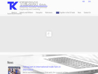 Frontpage screenshot for site: Tekon d.o.o. (http://tekon.hr)