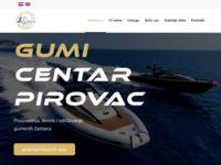 Slika naslovnice sjedišta: Gumi Centar Pirovac (http://www.gumicentarpirovac.hr)