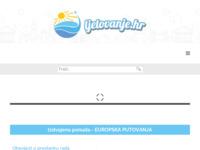 Frontpage screenshot for site: Ljetovanje.hr - Ponuda smještaja i turističkog sadržaja (http://www.ljetovanje.hr)