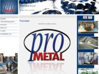 Slika naslovnice sjedišta: Prometal - obrada metala i nemetala. (http://www.prometal-ck.hr)