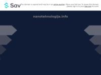Slika naslovnice sjedišta: nanotehnologija (http://www.nanotehnologija.info)