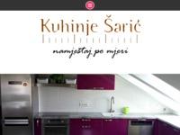 Slika naslovnice sjedišta: Kuhinje Šarić (http://www.kuhinje-saric.hr/)