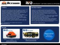 Slika naslovnice sjedišta: Oceanus Marine Safety - Servis i prodaja RFD splavi za spašavanje (http://rfd.com.hr/)
