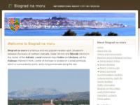 Slika naslovnice sjedišta: Biograd na moru (http://www.biograd-na-moru.com)