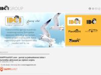 Frontpage screenshot for site: IBCI Hrvatska (http://www.ibci.hr)