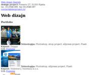 Slika naslovnice sjedišta: web dizajn studio (http://www.web-dizajn-studio.net/)