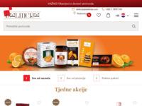 Slika naslovnice sjedišta: Deliiicije - lanac maloprodajnih dućana (http://www.deliiicije.com)