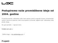 Slika naslovnice sjedišta: Trgovački obrt LDC (http://www.ldc-zg.hr)