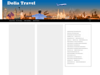 Frontpage screenshot for site: Dolia travel (http://www.doliatravel.hr)