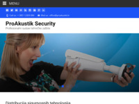 Frontpage screenshot for site: Proakustik.hr (http://www.proakustik.hr)