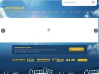 Slika naslovnice sjedišta: Zetović d.o.o. (http://www.zetovic.hr)