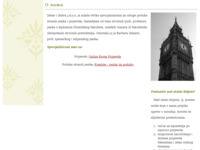Frontpage screenshot for site: Agencija za prijevode i poduku stranih jezika (http://www.laudi-lingua.hr)