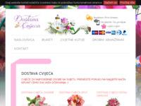 Slika naslovnice sjedišta: Internet cvjećarnica (http://www.dostavacvijeca.com)
