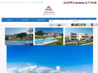 Frontpage screenshot for site: Agencija A&Alma agencija za posredovanje u prodaji nekretnine (http://www.therealestatecroatia.com)