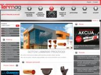 Slika naslovnice sjedišta: Gotovi limarski proizvodi - Termag d.o.o. (http://limarija.termag.hr)