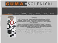 Frontpage screenshot for site: Guma Solenički (http://guma-solenicki.hr)