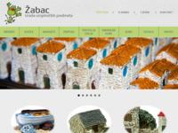 Frontpage screenshot for site: Žabac suveniri (http://www.zabac.hr)