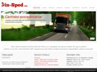 Slika naslovnice sjedišta: Din šped (http://din-sped.hr)